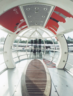 London Eye, cabine vazia