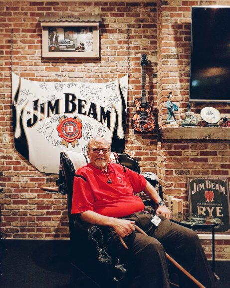Fred Noe, Presidente e Mestre Destileiro da Jim Beam. Bisneto do James Beam.