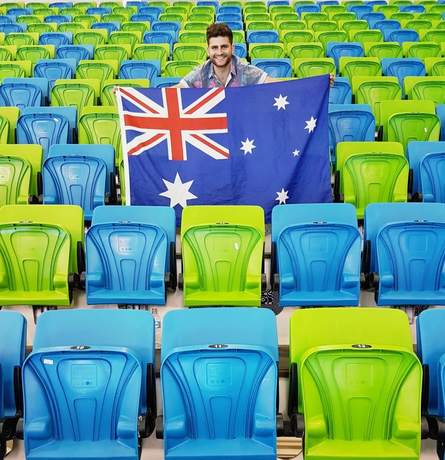 Padrão de cadeiras Estágio Aquático Olímpico #hhh2016 #rio2016