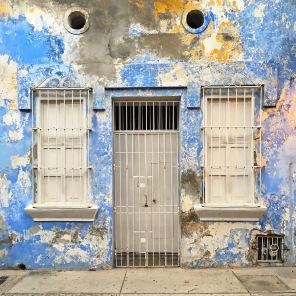 Fachadas coloridas de Cartagena